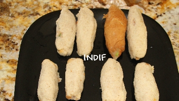 Indian Snack - Bread Roll