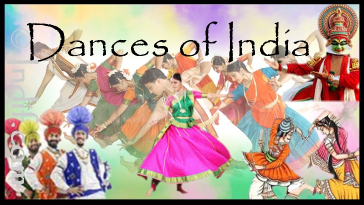Dances of India- by Indif.com