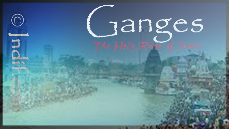 The Holy River of Ganga or Ganges