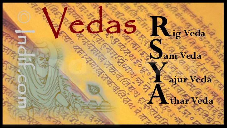 The holy vedas by Indif.com