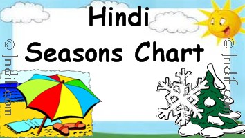 Hindi Seasons Chart