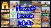 India - Places of Interest