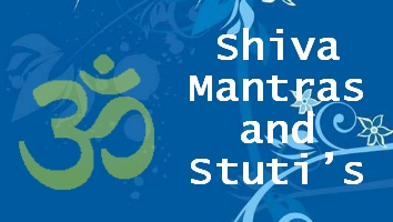 Lord Shiva mantras and shlokas