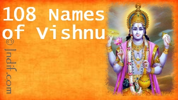 Shree Vishnu 108 Names
