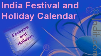 Indian Festival and Holiday Calendar